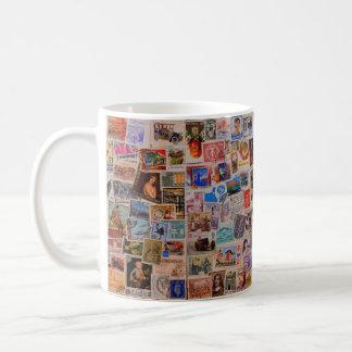 Welt der Briefmarken -- Kaffee-Tasse Kaffeetasse