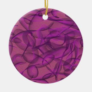Welt des Wirbel auch Keramik Ornament