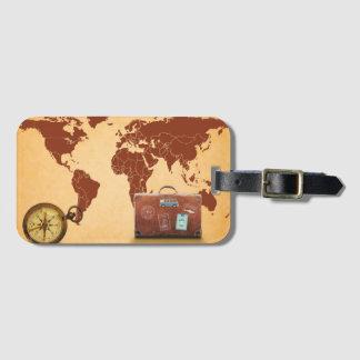 Welt Gepäckanhänger