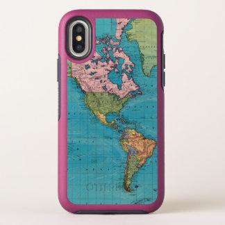 Welt, Mercators Projektion OtterBox Symmetry iPhone X Hülle
