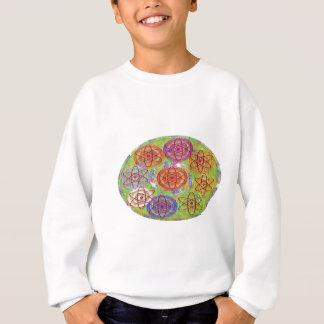 Welt von Elektronen - verrückte neun Sweatshirt