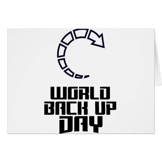 Weltaushilfstag Grußkarte