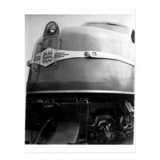 Weltausstellung-Zug 1939 auf Anzeige New-Haven Postkarten