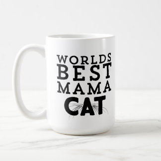 Weltbeste Mutter Cat Kaffeetasse