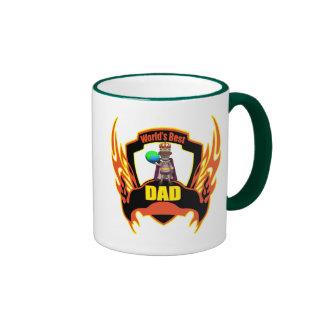Weltbeste Vati-Vatertags-Geschenke Ringer Tasse