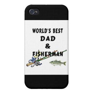 Weltbester Fischen-Vati iPhone 4 Schutzhüllen