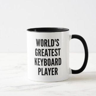 Weltbester Tastatur-Spieler Tasse