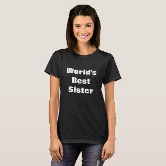 Weltbestes Schwester-Shirt besonders angefertigt T-Shirt