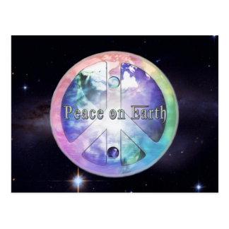 Weltfrieden ~ Weltraum-Version 2012 Postkarten