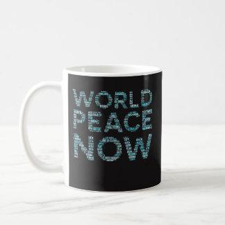 Weltfriedenskaffee-Tassen-lustiges Geschenk für Tasse
