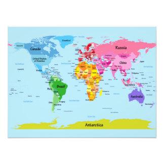 Weltkarte Fotos