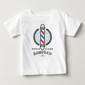 Weltklassen-Friseursalon Baby T-shirt