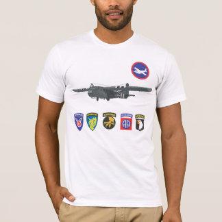 Weltkrieg-Segelflugzeug-Truppe-T - Shirts