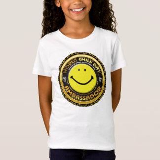 Weltlächeln Day® Botschafter 2014 Girls Shirt