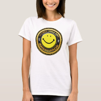 Weltlächeln Day® Botschafter Womans Shirt 2014
