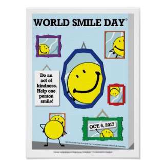 Weltlächeln-Tagesplakat 2017 Poster