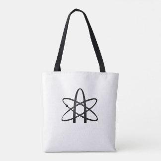 Weltliche atheistische Tasche