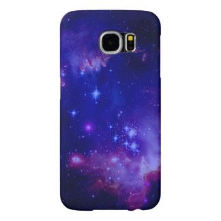 Weltraum-Galaxie/Nebelfleck mit blauer Tönung