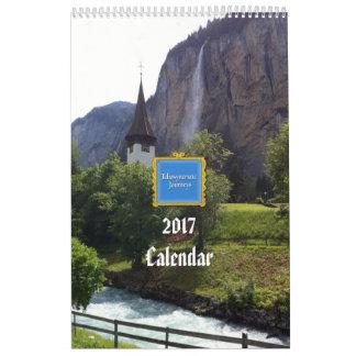 Weltreise-Kalender 2017 Wandkalender