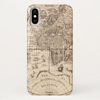 Welts-Karte iPhone X Hülle