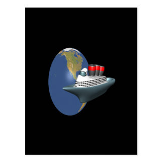 Weltweite Kreuzfahrt Postkarte