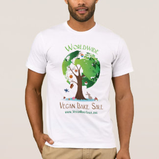 Weltweites veganes backen Verkaufs-Shirt durch T-Shirt