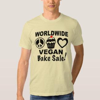 Weltweites veganes backen Verkaufs-Shirt durch Tshirts