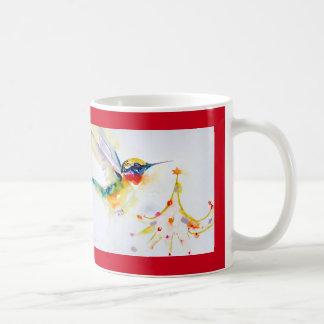 """""""Wenig Baum-Trimmer-"""" Kolibri-Druck Kaffeetasse"""