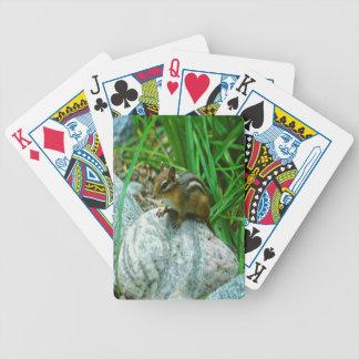 Wenig Chipmunk Bicycle Spielkarten