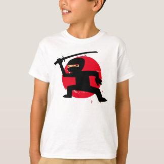 Wenig das Ninja des Kindes T - Shirt