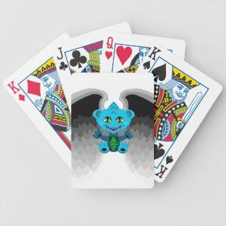 Wenig Drache mit Flügeln Pokerkarten