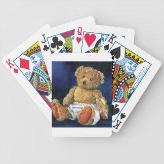 Wenig Eichel, ein LieblingsTeddybär Pokerkarten