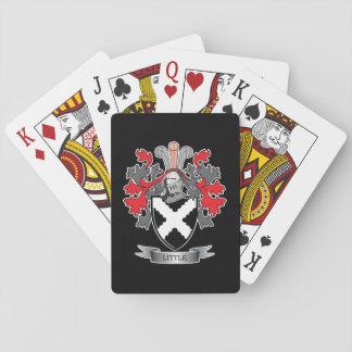 Wenig Familienwappen-Wappen Pokerdeck