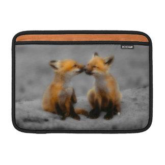 Wenig Fox-Liebe MacBook Sleeves