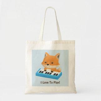 Wenig Fox-Lieben, Klavier-KinderTaschen-Tasche zu Tragetasche