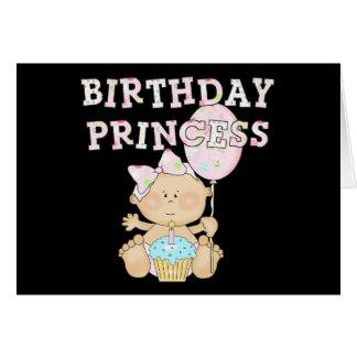 Wenig Geburtstags-Prinzessin Tshirts und Geschenke Karte