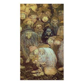Wenig Gnome-Junge Visitenkarten Vorlagen