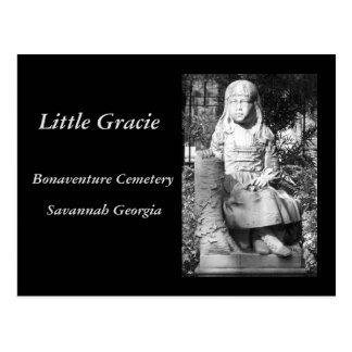 Wenig Gracie in Bonaventura-Friedhof Postkarte