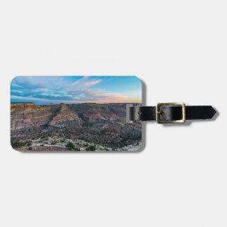 Wenig Grand- Canyonsonnenuntergang - Keil Gepäckanhänger