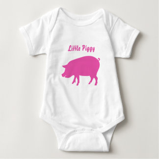 Wenig Piggy Bodysuit Baby Strampler