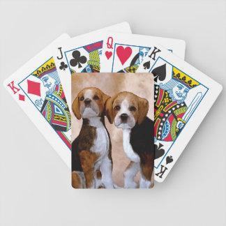 Wenig Puppys Pokerkarten