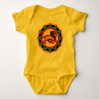 Wenig Rasta Baby Strampler