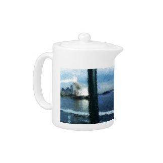 Wenig Tee-Topf