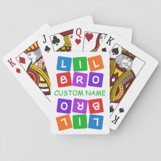 Wenige Bro kundenspezifische Spielkarten