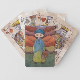 Wenige Senfkorn-Spielkarten Bicycle Spielkarten