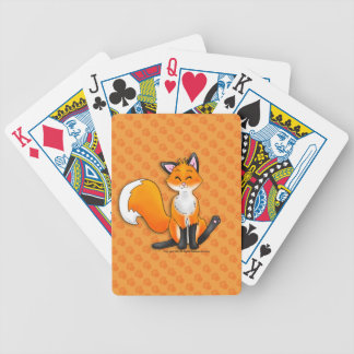 Wenige Spielkarten Fox