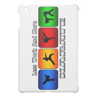 Weniger Arbeit und mehr Karate iPad Mini Hülle