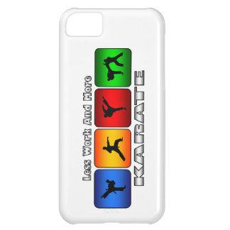 Weniger Arbeit und mehr Karate iPhone 5C Hülle