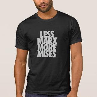 Weniger Marx mehr Mises T-Shirt