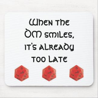 Wenn der DM lächelt Mousepad